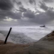 mer bretagne tempête treguennec